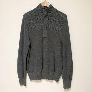 Banana Republic | Mens Gray Sweater Size Large